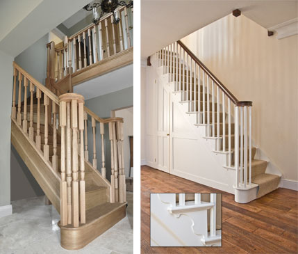 Stairs - Market Harborough :: Stylish AND practical, attention to detail can transform the purely functional.
