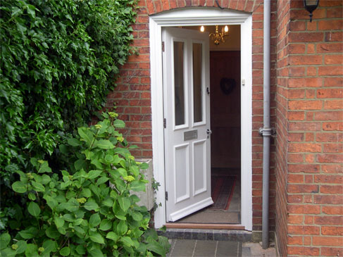 Front Door - Great Oxendon :: Bespoke doors are a very competitive alternative to ones available 'off the shelf' and allow you to get exactly what you want.